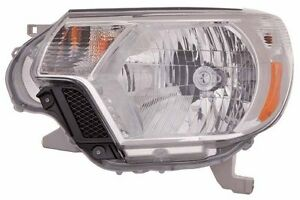 2012 2013 Toyota Tacoma New Left Driver Side Headlight Assembly