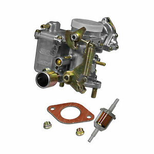 Vw 34 Pict 3 Carburetor With Hardware Type 1 And 2 Volkswagen