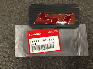 Genuine Oem Honda Civic Si 4dr Emblem 2013 2015