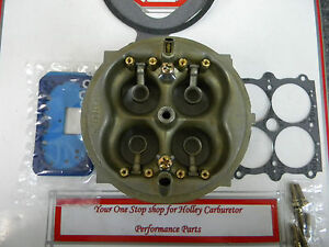 Holley 80496 Hp 950 Cfm Main Body Retro Fit Kit New