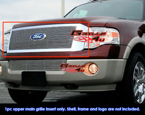 Fits Ford Expedition Billet Grille Grill Insert Fits 2007 2014