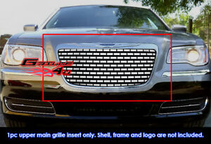 Fits Chrysler 300 300c Stainless Steel Symbolic Grill Insert fits 2011 2014