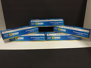 Air Water Syringe Sleeve 5x 500 box total 2500 Size 2 1 2 X 10 defend