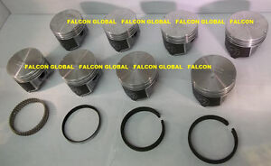 Sealed Power Dodge Ram Jeep 318 5 2 Hypereutectic Pistons rings 40 1992 2003