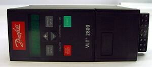 Danfoss Vlt 2800 1 5hp 195n1028 Variable Frequency Drive