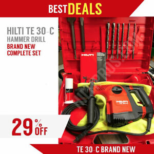 Hilti Te 30 c Avr Hammer Drill Brand New Free Extras Fast Shipping