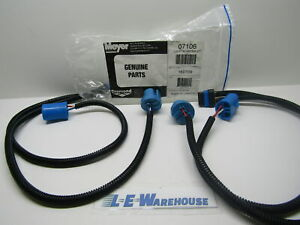 New Genuine Meyer Snow Plow Light Adapter Harness Part 07106 Gmc Ford Dodge