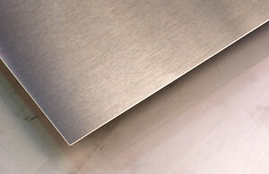 Alloy 304 2b Stainless Steel Sheet 12g 36 X 48 W pvc Coating