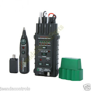 Network Telephone Cable Tester Detector Finder Tracker Ms6813 Rj45 Rj11 Coax