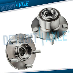 Front Complete Wheel Bearing And Hub Assembly Pair Fits 2004 2005 Mazda 3 W Abs
