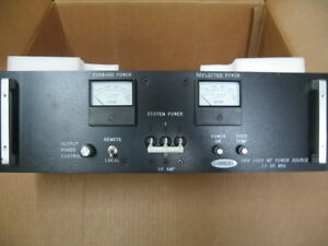 Comdel Cps 1001 13 Rf Generator Amat 0920 01006 Am 1168 Cps 1001 329347