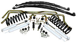1968 74 Chevy Ii Nova Typical Stage 2 Suspension Kits Front Coils