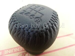 Toyota Supra Leather Shift Knob 6 Speed New Genuine Oem Parts 1993 1998