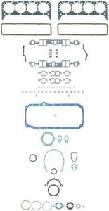 Chevy 350 5 7 Fel Pro Full Engine Gasket Set Kit Head Intake Oil Pan 1986 90