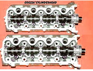 Pair Ford Lincoln F150 F250 F350 4 6 5 4 Sohc 3 Valve V8 Cylinder Heads 3l3e