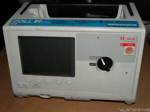 B w Lcd Zoll M Series Biphasique 200j Patient Monitor 3 lead Ecg W o Acces