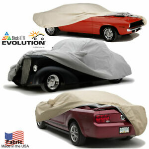 Evolution Tan Custom Fit Car Cover Fits 2011 15 Chevy Camaro Convert W Ant Pckt