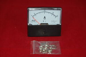 Ac 20a Analog Ammeter Panel Amp Current Meter Ac 0 20a 60 70mm Directly Connect