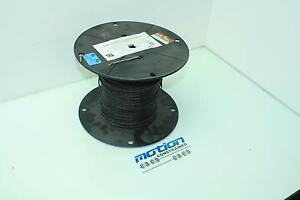 500 Ft Black Ezmg 20 10 ncc 600v blk High Temperature Nickel Plated Wire 20 Awg