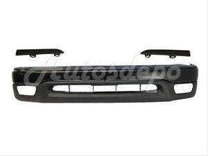 For Toyota 2001 2004 Tacoma 2wd Front Bumper Bar Blk Up Valance Grille Filler 5p