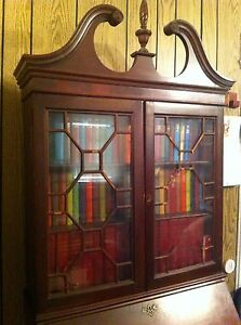 Antique King George Iii Secretary Bookcase Reduced From 8 100 To 4900