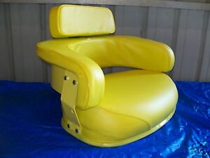 3 Piece Yellow Seat Assembly John Deere 3010 3020 4020 4320 5020 6030 7520 ex