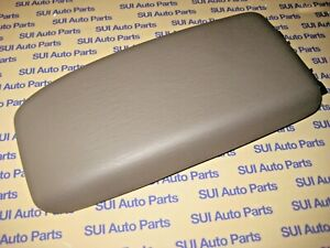 Toyota 4runner Tacoma Center Console Lid With Hinge Oak Tan Genuine Oem