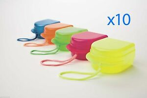 10 assorted Colors X Orthodontics Scented Retainer Box Free Shipping