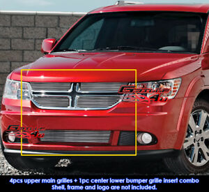Fits Dodge Journey Billet Grill Insert Combo 2011 2012
