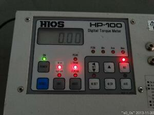 Battery Faulty Need Exchange Used Working Hios Hp 100 Digital Torque Tester