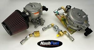 Complete Propane Conversion Kit For Motorcraft 2 Barrel 2bbl Block V6 V8 360