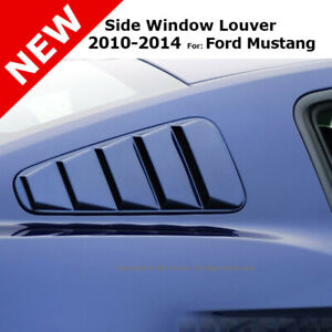 For 10 14 Mustang Stick On Air Side Five 5 Vent Window Louver Primer Unpainted