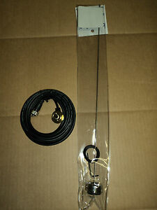 Uhf Or Vhf 1 4 Wave Nmo Antenna Kit And 17 Antenna Cable W Pl 259 Br pt152