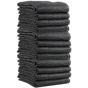 Deluxe Performance Moving Blankets Pads 12 Pack Free Shipping Great Quality