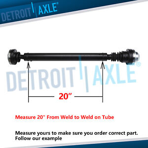 For 1999 2003 2004 Jeep Grand Cherokee Front Prop Shaft Driveshaft 4 7l 4x4 20