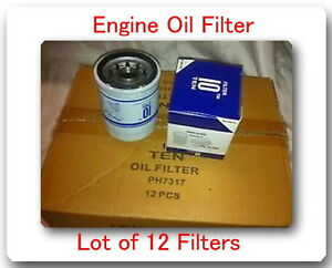 Case Of 12 So4476 Engine Oil Filter Fits Toyota L14476 Ph4967 Lf3614 51394