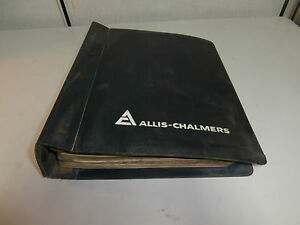 Allis Chalmers Ac Hd41 Crawler Tractor Repair Shop Service Manual