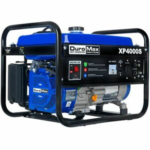 Duromax 4000 Watt Gas Powered Rv Camping Portable Generator Rv Camping Xp4000s