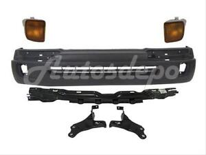 For 1998 2000 Tacoma 2wd W Prerunner 4wd Front Bumper Signal Light Rebar Bracket