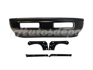 For 1997 2002 Dodge Ram Pickup Front Steel Bumper Pad Valance Air Dam Bracket 8p