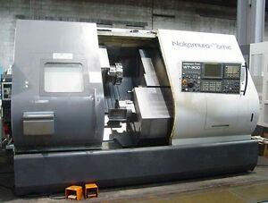 Nakamura Tome Wt 300mmy 8 axis Cnc Lathe Fanuc 18itb Lns Barfeed Live Tooling
