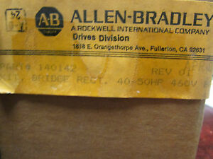 Allen Bradley 140142 Rectifier Bridge