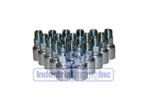 20 E203 6 6 Hydraulic Hose Crimp Fittings 3 8 Male Pipe X 6 Hose