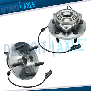 2 Front Wheel Bearing Hub 2006 2007 2008 2009 Dodge Durango And Chrysler Aspen