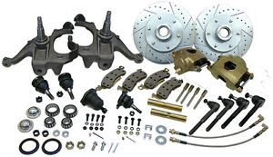 1963 70 Chevy Gmc Truck Deluxe Disc Brake Conversion Kit 6 Lug Stock Height