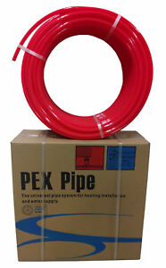 1 2 X 500ft Pex Tubing Oxygen Barrier Evoh Pex b Red 500 Ft Radiant Floor Heat