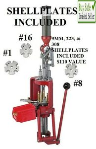 Hornady Lock-N-Load AP Progressive Press INCLUDES #1 #8 & #16 SHELLPLATES
