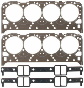 Fel Pro Full Gasket Set Head intake seals Chevy Pontiac Buick 350 5 7 Lt1 93 97