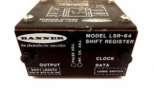 Used Banner Lsr 64 Shift Register Lsr64