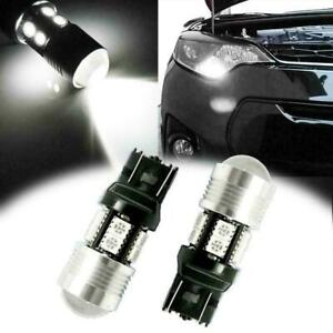 2x Back Up Reverse Light Bulb 10 smd 7443 7440 Led Lamps 6000k Extremely Bright